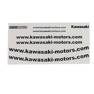 【KAWASAKI】Kawasaki WEB貼紙套組 - 「Webike-摩托百貨」
