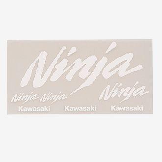 【KAWASAKI】Kawasaki ninja logo貼紙組 - 「Webike-摩托百貨」