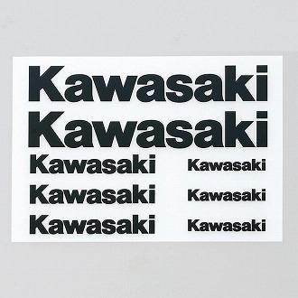 【KAWASAKI】Kawasaki 熱轉印貼紙套組 - 「Webike-摩托百貨」