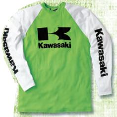 【KAWASAKI】長袖四MX襯衫 - 「Webike-摩托百貨」