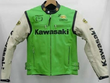 【KAWASAKI】真皮騎士夾克 XIII 【限定生産商品】 - 「Webike-摩托百貨」