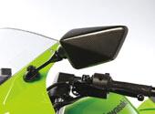 【KAWASAKI】類碳纖維後視鏡外蓋組套 - 「Webike-摩托百貨」