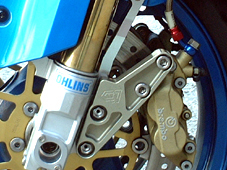 【CLEVERWOLF】標準型卡鉗固定座倒立式前叉專用 - 「Webike-摩托百貨」