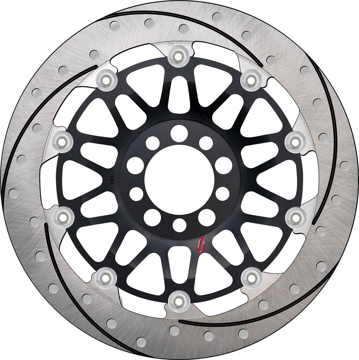 【SUNSTAR】Premium Racing 前煞車碟盤 - 「Webike-摩托百貨」