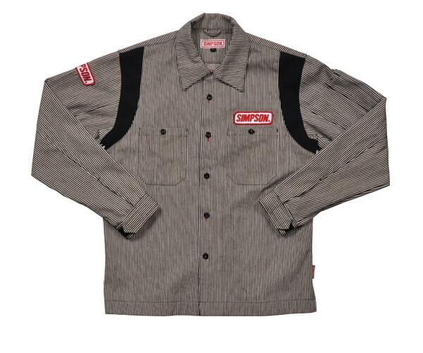 【SIMPSON】技師襯衫(經理服) - 「Webike-摩托百貨」