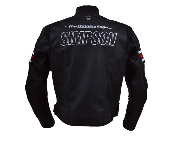 【SIMPSON】皮革外套 - 「Webike-摩托百貨」