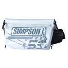 【SIMPSON】防水腰包/白色 - 「Webike-摩托百貨」
