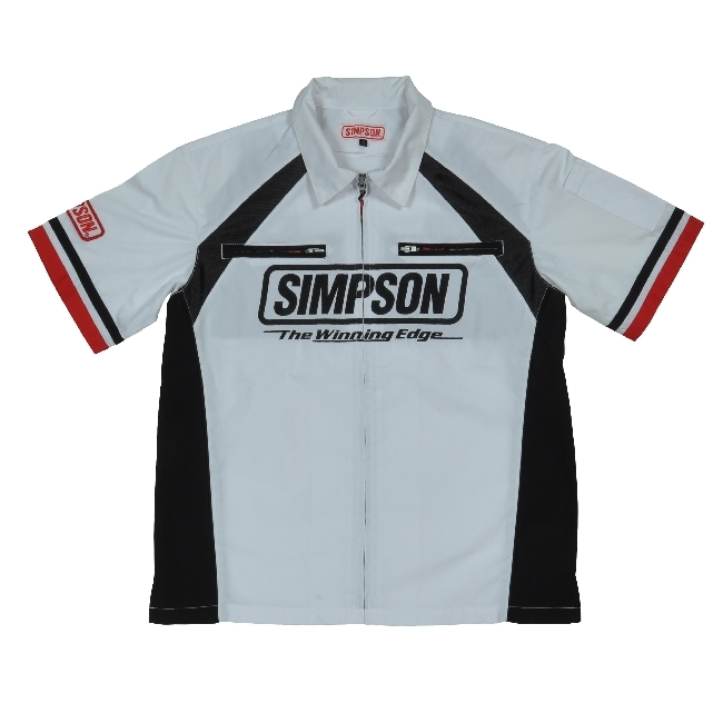 【SIMPSON】技師襯衫(經理服) MSH-023 - 「Webike-摩托百貨」