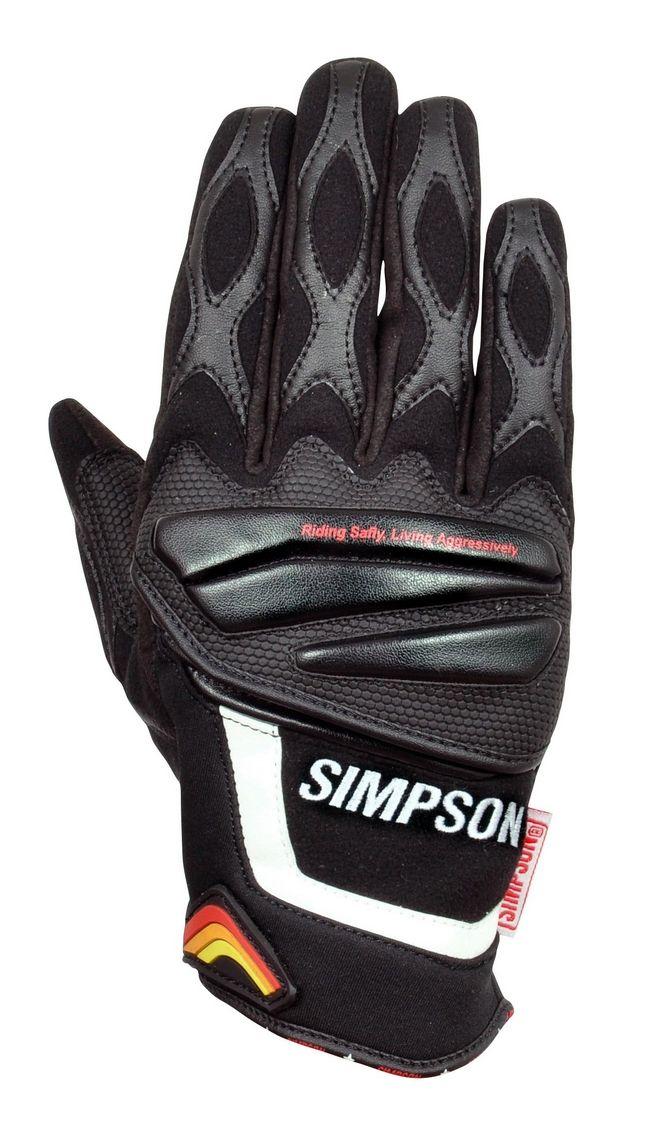 【SIMPSON】冬季手套 SG-3174 - 「Webike-摩托百貨」