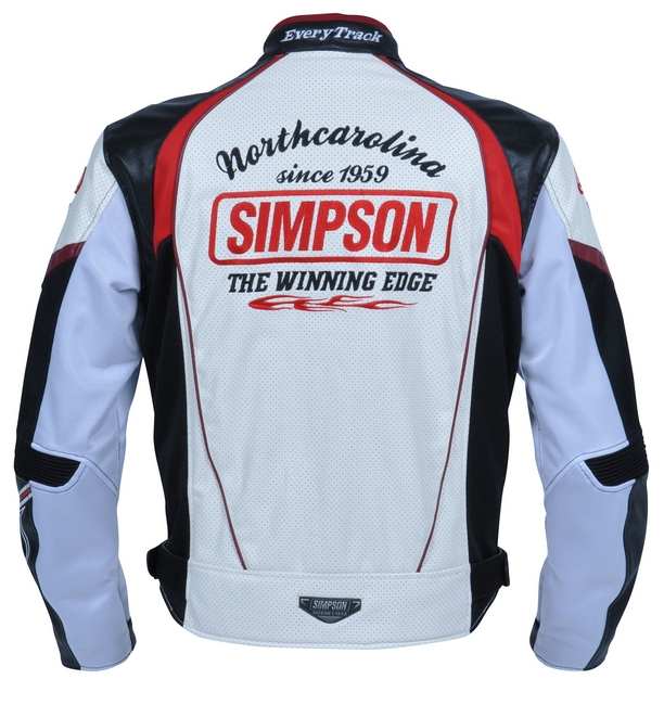 【SIMPSON】網格外套 紅色 - 「Webike-摩托百貨」