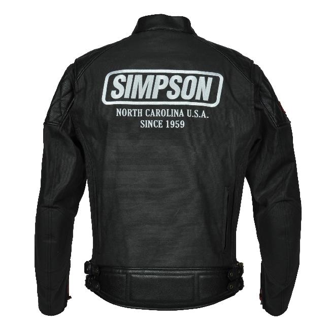 【SIMPSON】棉質夾克 SJ-3114 - 「Webike-摩托百貨」