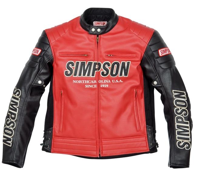 【SIMPSON】合成皮革外套(車衣) SJ-3134 - 「Webike-摩托百貨」
