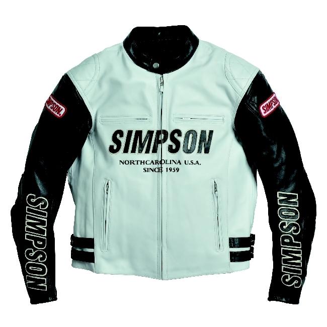 【SIMPSON】皮革外套 SLJ-3111 - 「Webike-摩托百貨」