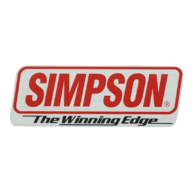 【SIMPSON】貼紙 STT-20 - 「Webike-摩托百貨」