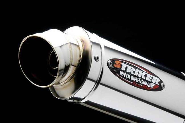 【STRIKER】Power mini 維修用Street橢圓不鏽鋼排氣管尾段 - 「Webike-摩托百貨」