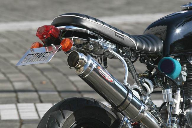 【STRIKER】Power mini 下出型排氣管尾段B - 「Webike-摩托百貨」