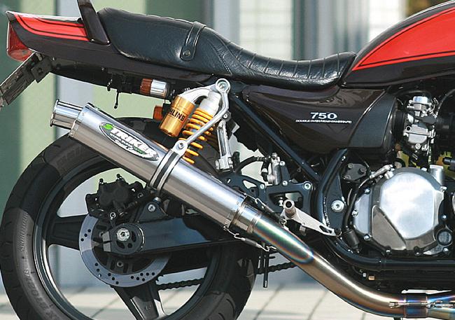 【STRIKER】Street Concept 鈦合金全段排氣管(附後座腳踏) - 「Webike-摩托百貨」