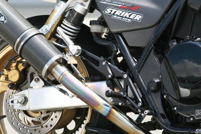 【STRIKER】單點式腳踏後移套件 - 「Webike-摩托百貨」