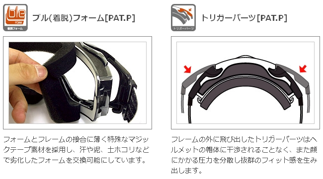 【SWANS】MX-TALON-Ba 越野風鏡 - 「Webike-摩托百貨」