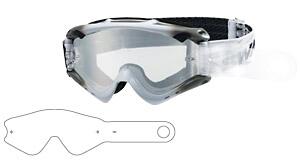 【SWANS】RUSH THIN TEAR OFF 20PK(RUSH越野風鏡專用快拆式鏡片) - 「Webike-摩托百貨」