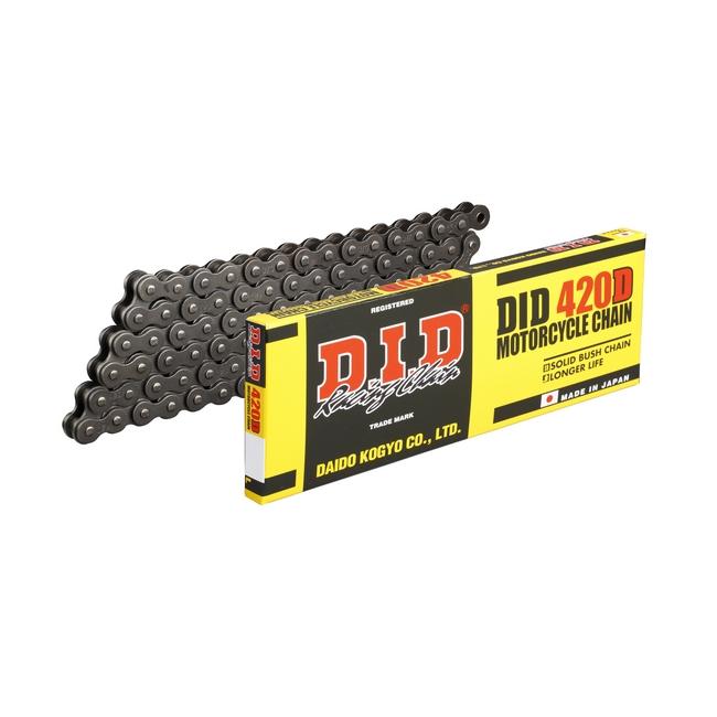 【DID】標準系列 420D 鋼色(steel color)鏈條  - 「Webike-摩托百貨」
