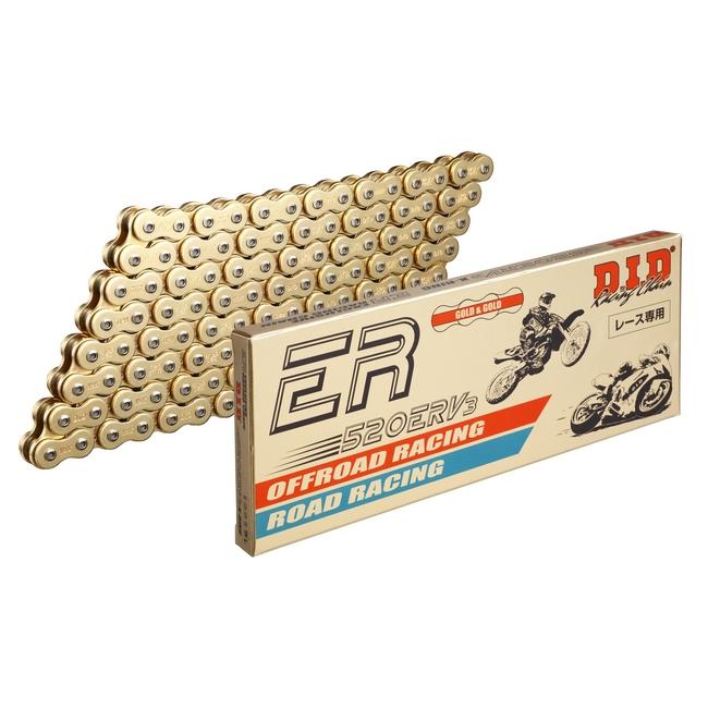 【DID】ER 系列 520ERV3 金色鏈條 - 「Webike-摩托百貨」