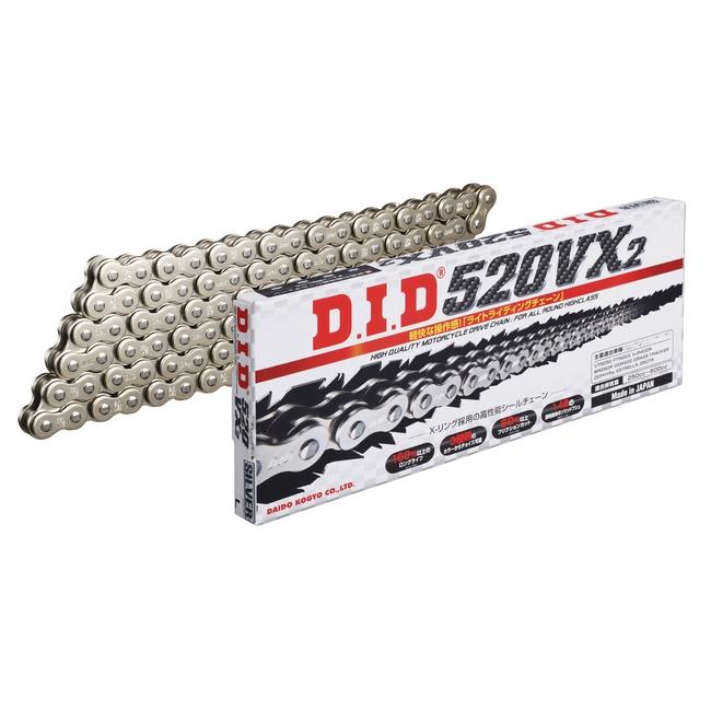 【DID】VX 系列 520VX2 銀色鏈條   - 「Webike-摩托百貨」