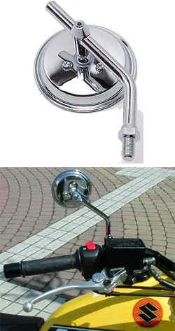 【TAKATSU】3英吋screw in 後視鏡 - 「Webike-摩托百貨」