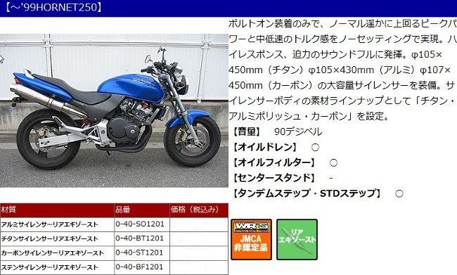 【WR's】鋁合金排氣管尾段 - 「Webike-摩托百貨」