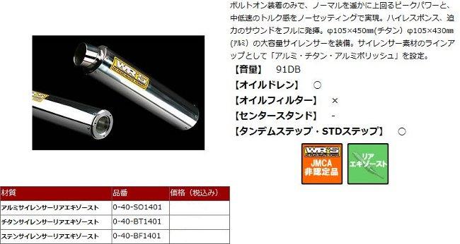 【WR's】不鏽鋼排氣管尾段 - 「Webike-摩托百貨」