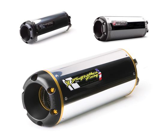【Two Brothers Racing】VALE 排氣管尾段 (M2 鋁合金消音器) 銀色系列 - 「Webike-摩托百貨」