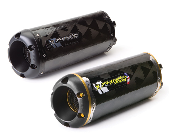 【Two Brothers Racing】V.A.L.E. V2 M2 碳纖維排氣管尾段 - 「Webike-摩托百貨」