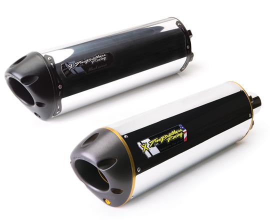 【Two Brothers Racing】V.A.L.E. 雙出型排氣管尾段 (M2 鋁合金消音器) - 「Webike-摩托百貨」