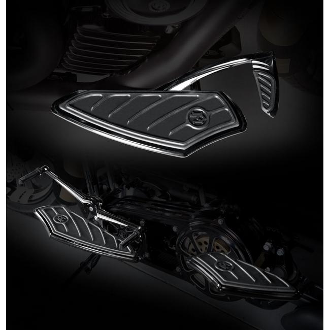 【PerformanceMachine】FL用 腳踏板(鍍鉻) - 「Webike-摩托百貨」