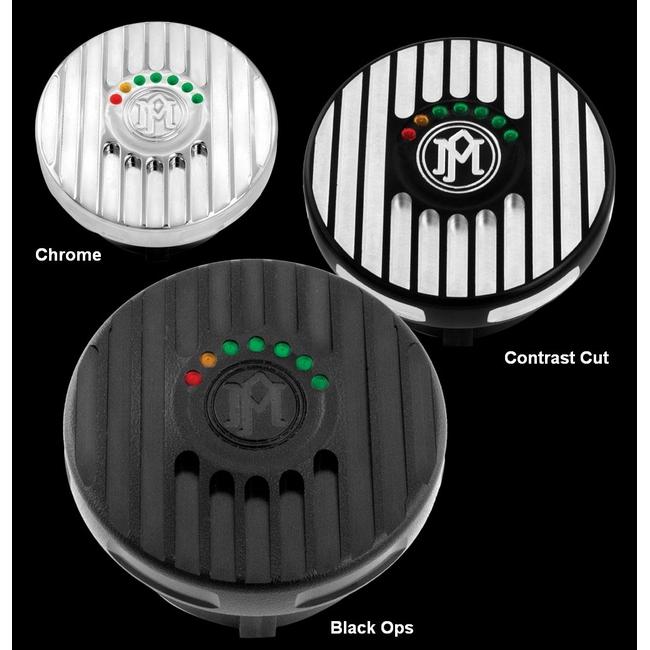 【PerformanceMachine】LED油量顯示型 油箱蓋 / Grill - 「Webike-摩托百貨」