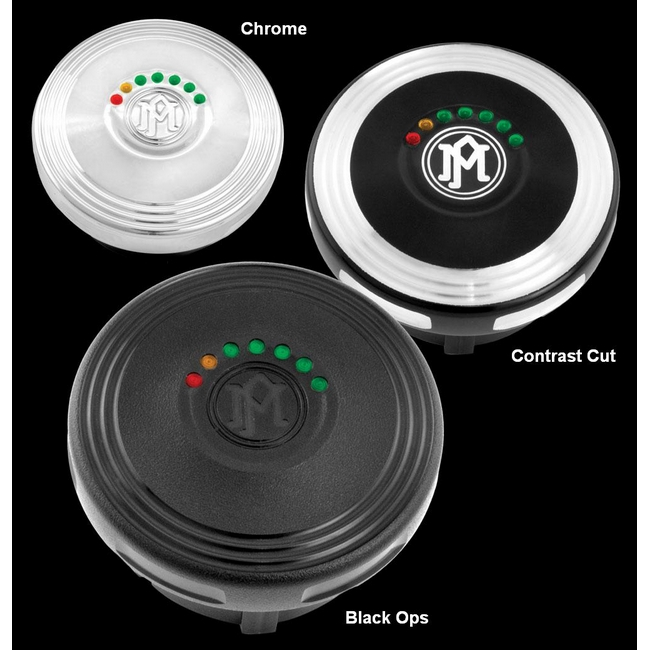 【PerformanceMachine】LED油量顯示型 油箱蓋 / Merc - 「Webike-摩托百貨」