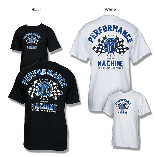 【PerformanceMachine】Racing Logo T恤 - 「Webike-摩托百貨」