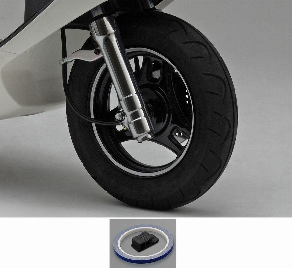 【PRO GRIP】輪框貼紙(反射藍) - 「Webike-摩托百貨」