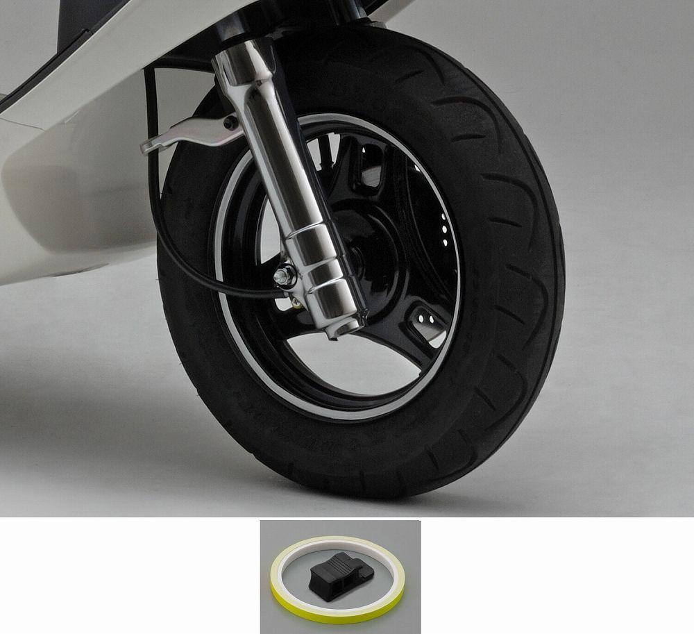 【PRO GRIP】輪框貼紙(螢光黃) - 「Webike-摩托百貨」