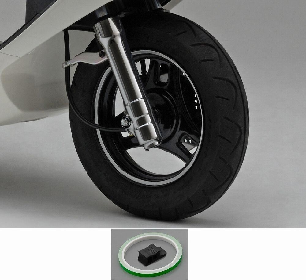 【PRO GRIP】輪框貼紙(螢光綠) - 「Webike-摩托百貨」