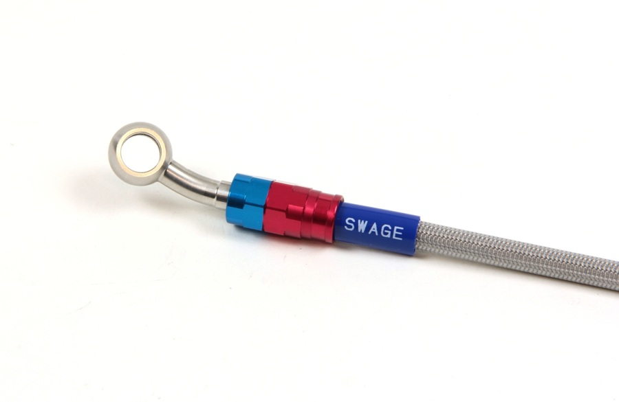 【SWAGE-LINE】SWAGE-LINE PRO 後金屬煞車油管套件 - 「Webike-摩托百貨」