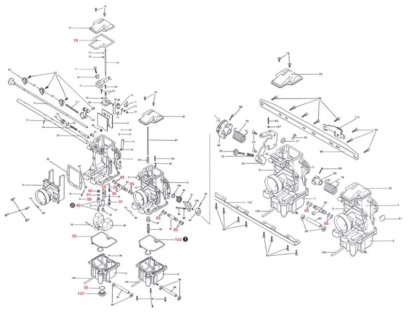 【Mikuni】上蓋墊片 - 「Webike-摩托百貨」