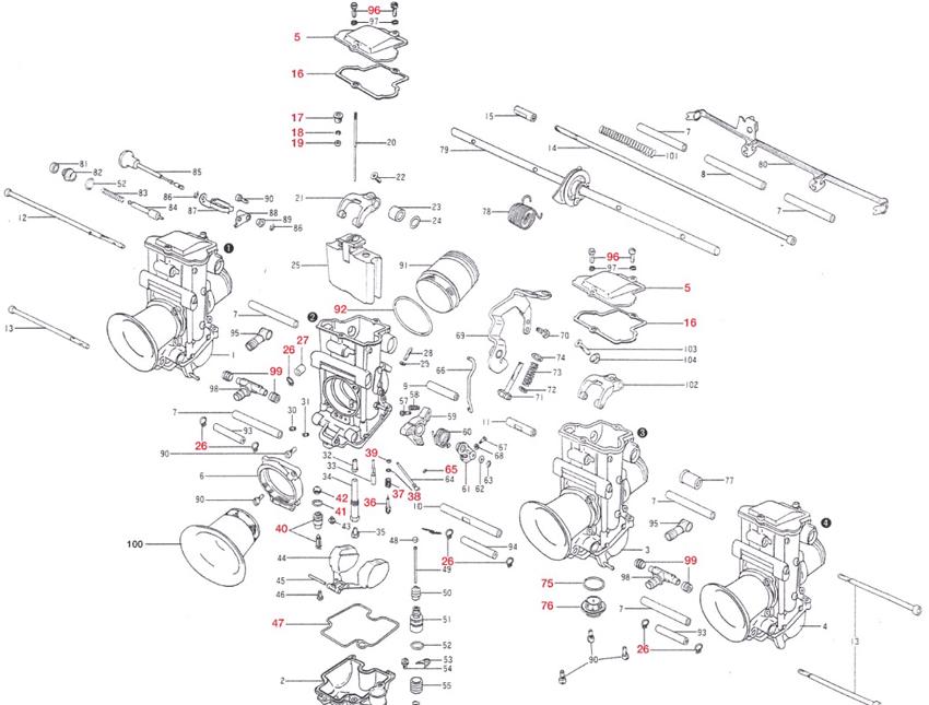 【Mikuni】止油針閥組 #3.8 - 「Webike-摩托百貨」