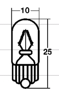 【STANLEY-Japan】牌照用燈泡 (氣泡紙包裝) - 「Webike-摩托百貨」
