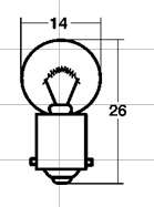 【STANLEY-Japan】牌照燈泡用電球 (氣泡紙包裝) - 「Webike-摩托百貨」
