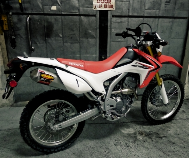 マフラー crf250l