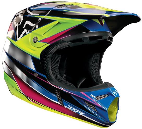 【FOX】V4 RACE越野安全帽 - 「Webike-摩托百貨」