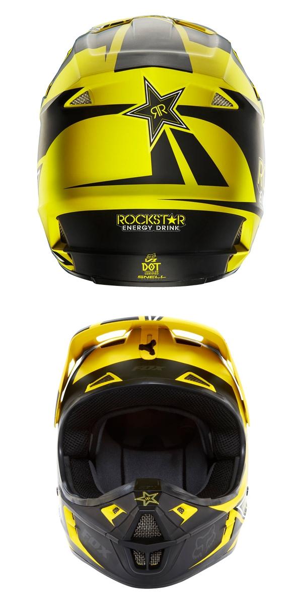【FOX】V1 ROCKSTAR 越野安全帽 - 「Webike-摩托百貨」
