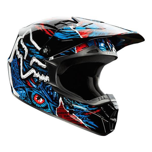 【FOX】V1 CREEPIN 越野安全帽 - 「Webike-摩托百貨」