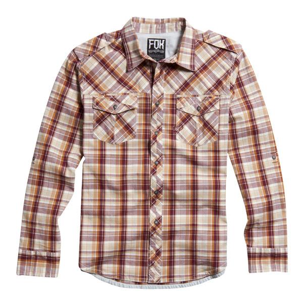 【FOX】FOX Brick L/S WOVEN襯衫 - 「Webike-摩托百貨」
